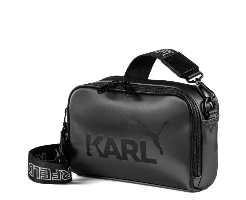 85f8c38c35 Karl Lagerfeld and Puma crossbody kabelka black