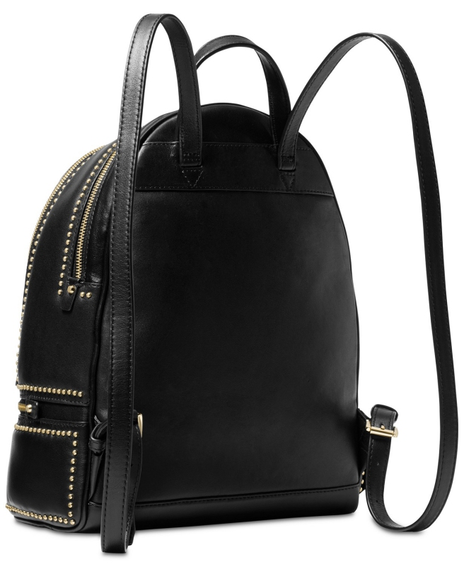 ba77caf36c Michael Kors Rhea zip studded backpack black
