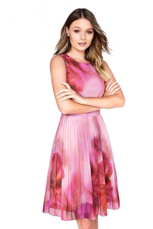 Little Mistress růžové letní šaty - Livien.sk da8ec00ad5e
