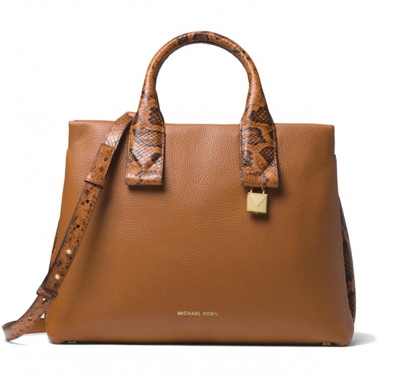 Michael Kors kabelka Rollins large leather acorn  1671639295b