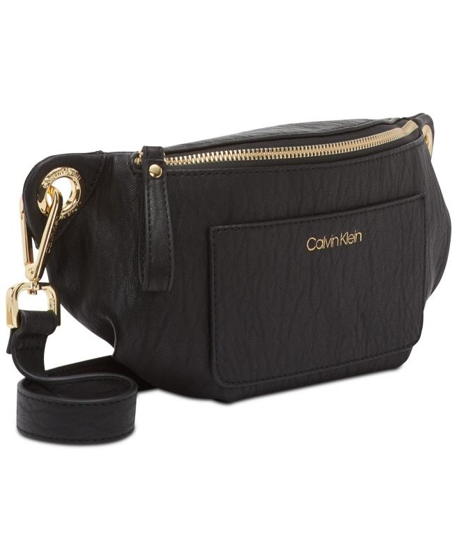 Calvin Klein ledvinka malá kabelka Sonoma black  8ae4759badc