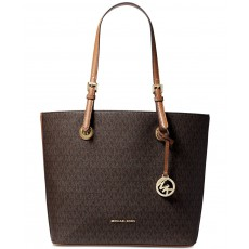 Michael Kors jet set item tote brown