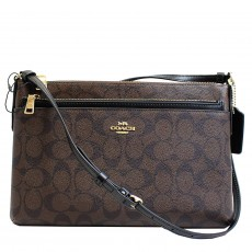 Coach crossbody kabelka signature east west pop