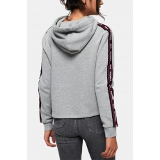 Superdry mikina logo print gia graphic grey
