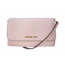 Michael Kors jet set medium Pouchette crossbody pink