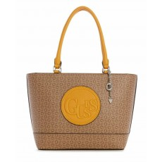 Guess kabelka Angelea tote neutral multi