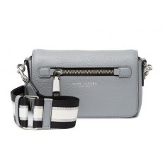Marc Jacobs kožená šedá crossbody Gotham leather bag