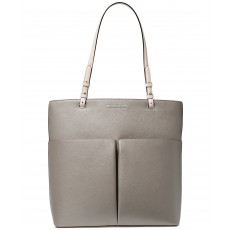 Michael Kors kabelka Bedford large leather pearl gray