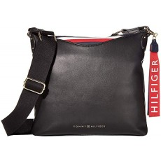 Tommy Hilfiger crossbody Walker smooth pvc crossbody černá