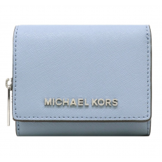Michael Kors peněženka multifunction small leather powder blue