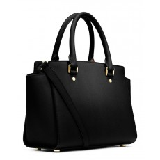 Michael Kors kabelka Selma medium saffiano black