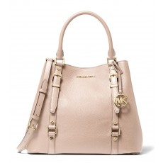 Kabelka Michael Kors Bedford Legacy large pebbled leather tote růžová