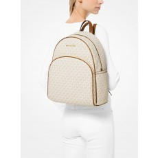 Michael Kors batoh Abbey large backpack vanilla