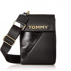 Tommy Hilfiger large Cassie iPhone crossbody black
