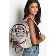 Victoria´s Secret graffiti city backpack gray