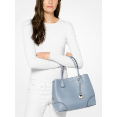 Kabelka Michael Kors Mercer medium gallery pale blue modrá