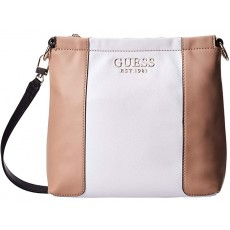 Guess crossbody kabelka Holly white multi