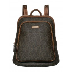 Calvin Klein batoh monogram signature brown