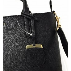 Ralph Lauren crossbody tote kabelka black gold