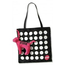 Victoria's Secret PINK packable dog nylon tote