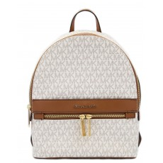 Michael Kors batoh Kenly medium logo vanilla