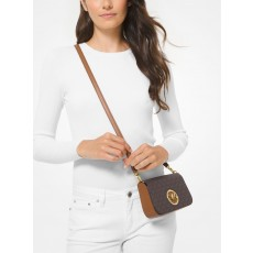 Michael Kors kabelka crossbody convertible signature brown