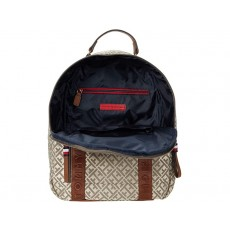 Tommy Hilfiger batoh Francine signature chocolate