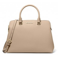 Michael Kors kabelka Idina medium saffiano leather bisque