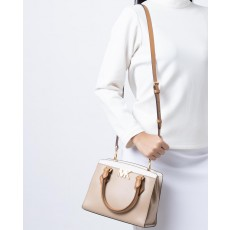 Kabelka Michael Kors Mott medium leather bisque multi