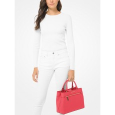 Kabelka Michael Kors Hailee large saffino leather coral