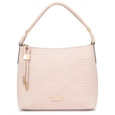 Kabelka Michael Kors Lexington embossed faux leather medium soft pink