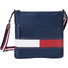 Tommy Hilfiger Allie crossbody smooth nylon modrá