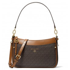 Michael Kors kabelka jet set medium brown/acorn hnědá