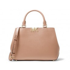 Michael Kors kabelka Florence medium saffiano leather blush růžová