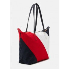 Tommy Hilfiger kabelka Poppy stripes tote multicolor