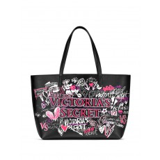 Victoria´s Secret graffiti everything tote and pouch 2018