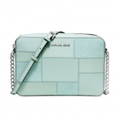 Michael Kors kabelka jet set crossbody large celadon