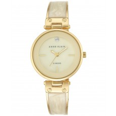 Hodinky Anne Klein gold tone/ivory
