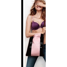 Victoria´s Secret crossbody pink - black