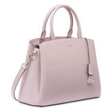 da186bb5f7 ... DKNY Paige satchel kožená kabelka medium light lavender silver