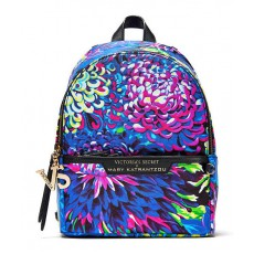 Mary Katrantzou city backpack batůžek pro Victoria´s Secret floral print