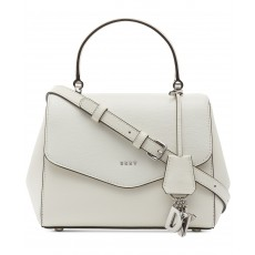 DKNY Paige kabelka top handle white/silver